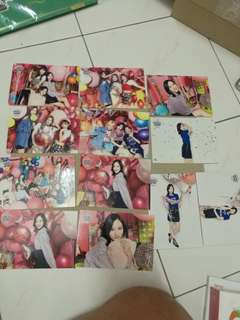 Twice touchdown candy pop postcard, ic card