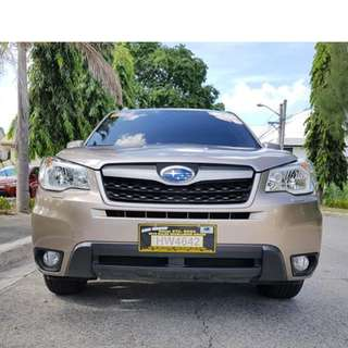 Subaru Forester 2016 Automatic AWD Casa Maintained