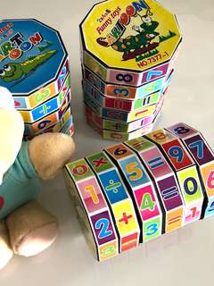 Mathematics learning puzzle- children party goodies bag, ideal goody bag gift