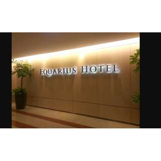 RWS Equarius Weekend Hotel Staycation 2D1N (23 Jun)