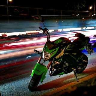 Kawasaki Z125 KRT, 5k kms