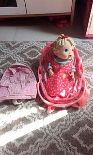 Doll carrier nd bag carrier