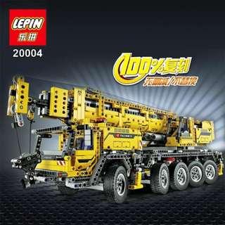 樂拼 Lepin 20004 吊雞車積木 (不是樂高 Not LEGO 42009)