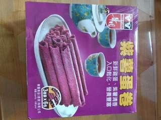 華園紫薯蛋卷(3條x6包)