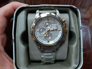 100 % authentic Mens Fossil Watch