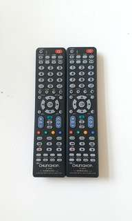 Samsung TV remote control 三星電視遙控  電視萬用遙控 x2