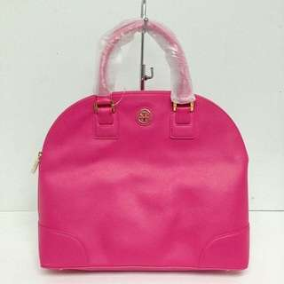 Authentic Tory Burch Robinson Large Dome Tote