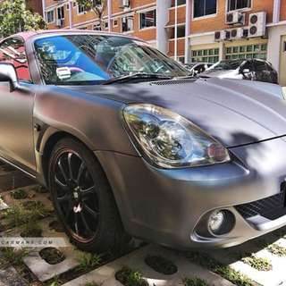 Toyota MR-S 1.8 Manual V-Edition
