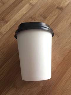 Coffee cups disposable, single wall