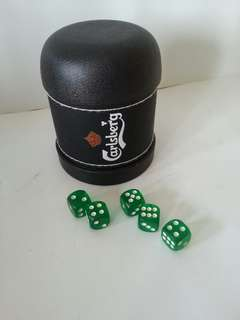Carlsberg dice shacker