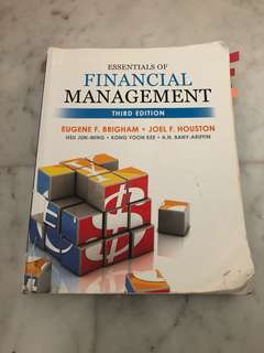 AB1201 Financial Management 3rd edition