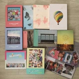kpop album & photocard clearance