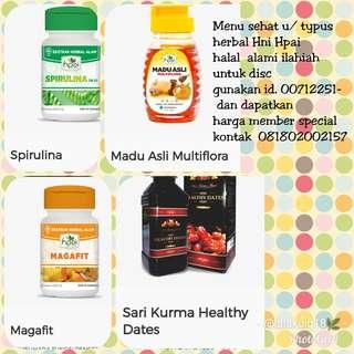 Menu sehat Herbal halal HPAI HNI discount