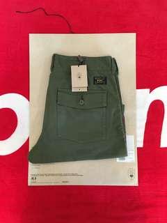 WTAPS 17SS BUDS SHORTS 短褲 軍綠