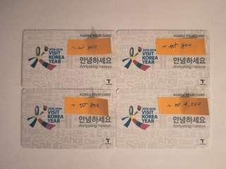 Korea Tour Card / T-money Card #ramadan50