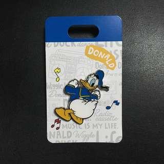 東京迪士尼 唐老鴨 生日 襟章 (Tokyo Disney Donald Birthday Pin 2018)