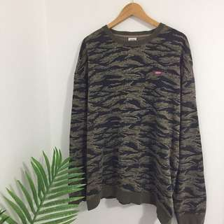 Camo Obey Oversized Jumper