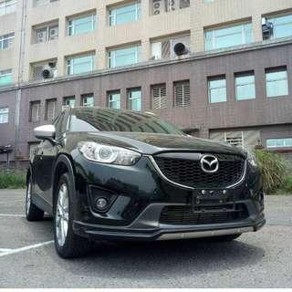 2014年CX5黑色頂級2.2柴油跑13萬