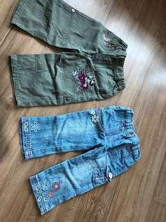 1 -2yo Jeans for girls