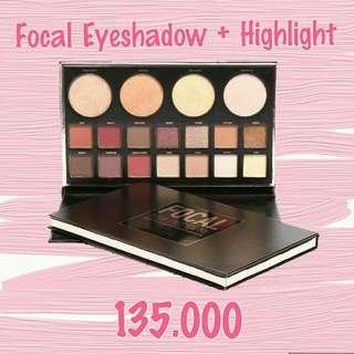 Focallure Focal Eyeshadow Highlight Pallete
