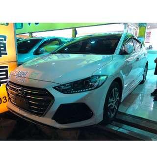 2017年ELANTRA 汽油 2.0 跑2.9萬