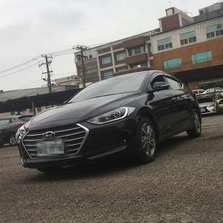 2017年  SUPER  ELANTRA  1.6柴油黑色