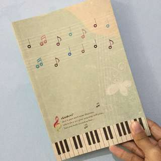 Notebook Music