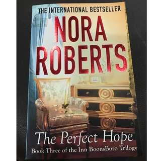 The Perfect Hope (by Nora Roberts)