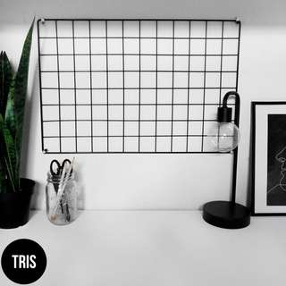 WIRE GRID WALL BOARD (NETT PRICE)