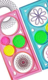 Spirograph sketchpad drawing