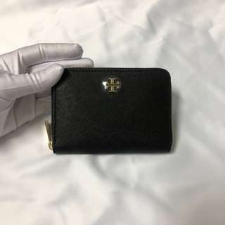 Tory Burch Emerson Coin Key Pouch Black