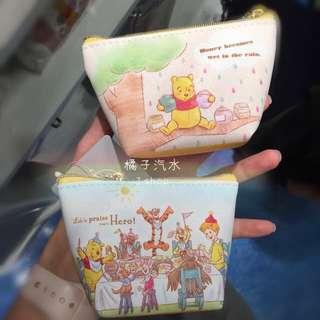 日本迪士尼維尼零錢包