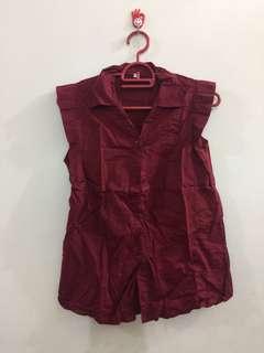 Red sleeveless