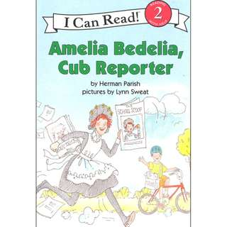 (Brand New) Amelia Bedelia, Cub Reporter  (I Can Read Amelia Bedelia - Level 2)    By: Herman Parish Paperback  For Ages: 4 - 8 years old