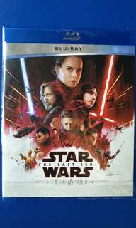 Star Wars - The Last Jedi BluRay