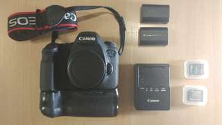 Canon 6d eos camera