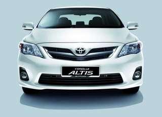 Toyota Altis E Auto 1.8 2011