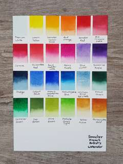 Sennelier Artist Grade Watercolour Paints Half Pan Size