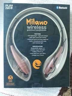 Blue tooth earphones