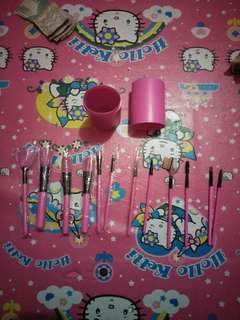 Brush set 12 pcs impor beli di cina
