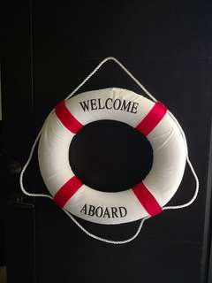 Lifeguard Safety Ring Float for Birthday Decoration