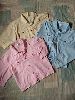 Denim-style Jackets