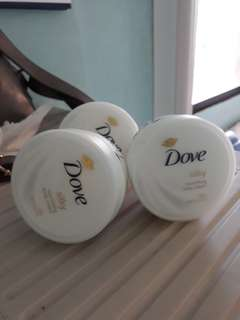 Dove Silky nourishing body cream