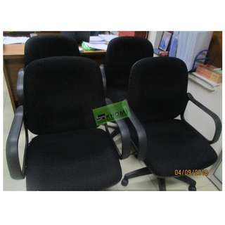 MC-400AX MIDBACK CHAIRS COLOR BLACK--KHOMI