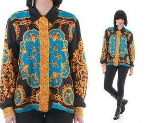 Rare Versace type Baroque Print Buttondown