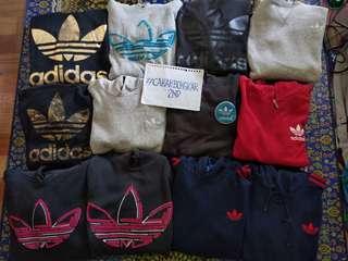 Hoodie + Ziphoodie + Crewneck Adidas Trefoil - Random