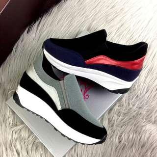 [ELIZA ORIANNA CASUALLY SNEAKERS 5566-1] Sepatu Fashion Wanita Impor Murah