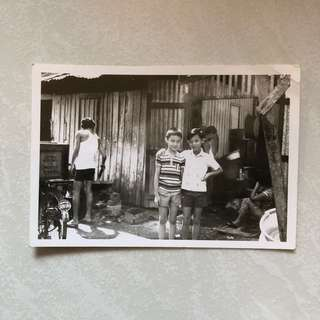 Vintage Old Photo - old Black & White Photograph (9 by 13 cm)