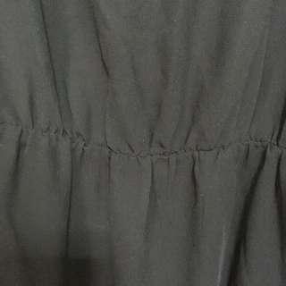 Zara Trafaluc | Long Black Sheer Dress with inner piece | 👗318-A10