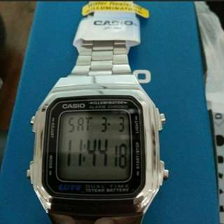 Sale Casio silver 💯 brand new and authentic